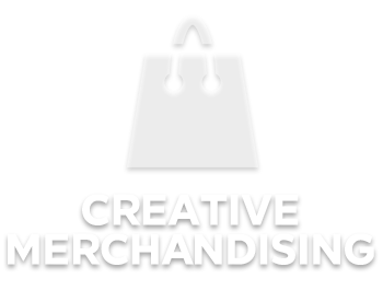 creative merchandise large logo