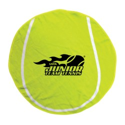 Yellow Tennis Ball Towel